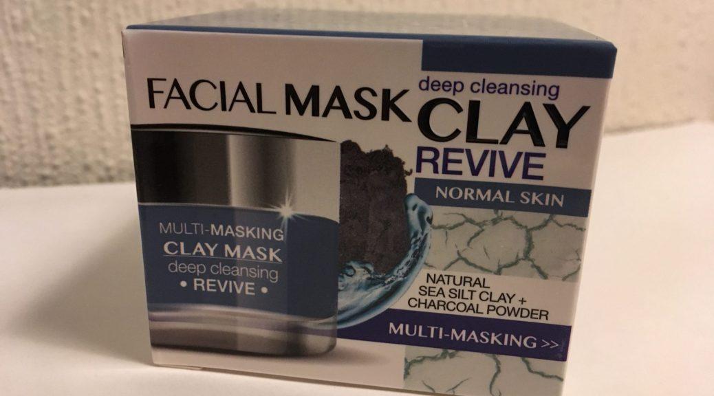 Action Facial Mask van Clay
