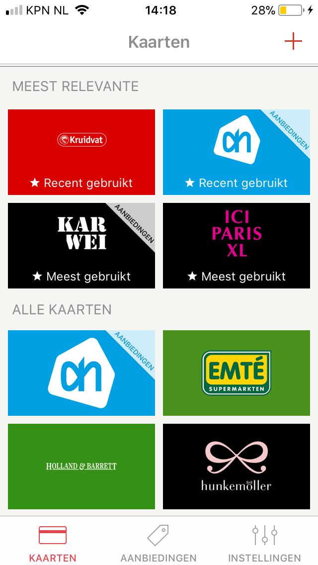 Stocard app